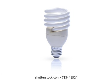 Light bulbs on white background.