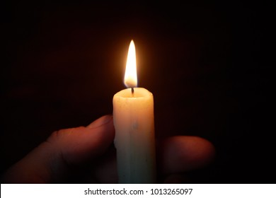 Candle in Hand Images, Stock Photos & Vectors | Shutterstock