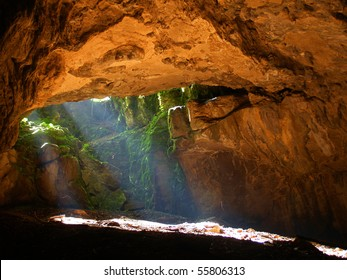 Light and cave