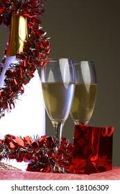 light champagne decoration