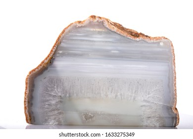 Light cyan calsedon quartz stone
