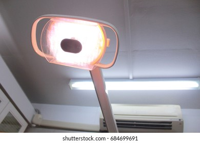 light in dental room for treat and heal
