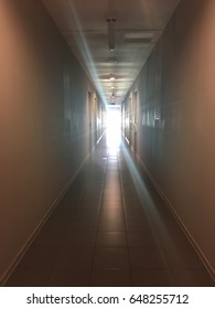 Light at the end of corridor