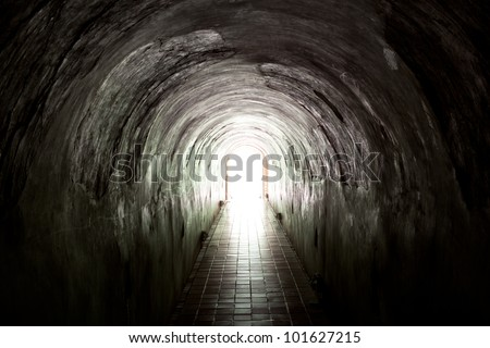 Light at the end of the  old tunnel