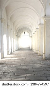 light at the end of tunnel of Arcade