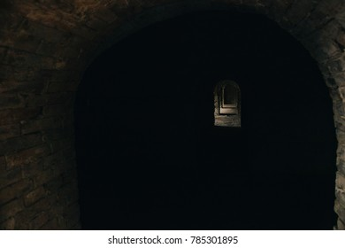 Light at the end of the tunnel. Horror.