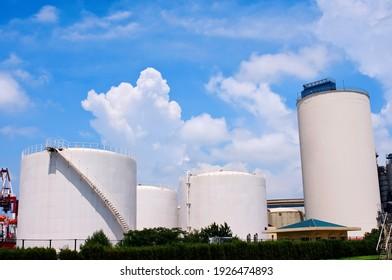 Light fuel oil depot, China