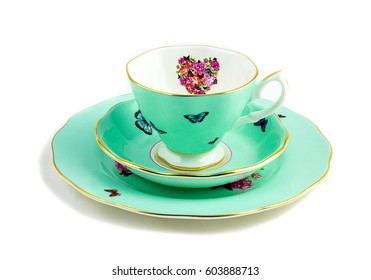 Light green tea  set
