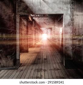light and hallway