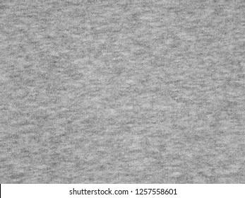 Light heather gray sweatshirt cotton knitted fabric texture swatch