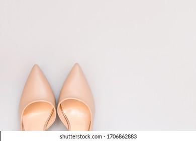 Beige Shoes Images, Stock Photos