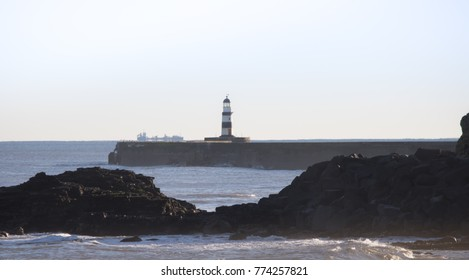 light house in distance