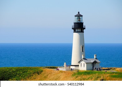 light house in Oregon Coast black head
