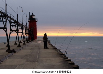The light house of South Haven