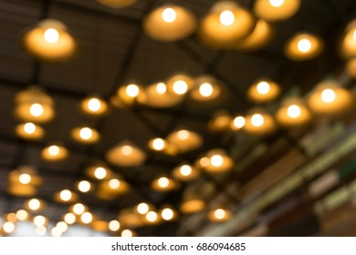 light lamp for bokeh background