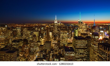 Light of life from new york city, USA