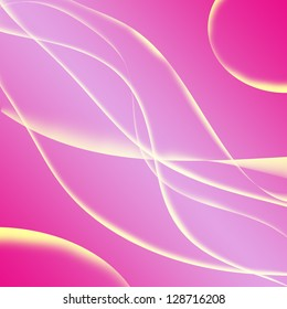 light and line glowing pink background