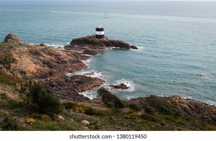 The light at Noirmont Point, Jersey, Channel Islands