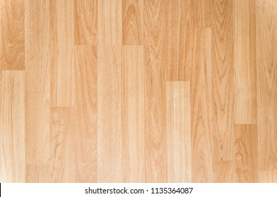 Light oak wooden flooring texture background, Top view of smooth brown laminate seamless wood floor, use for architecture business or wallpaper