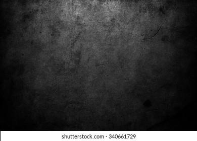 Light on black wall. Black background