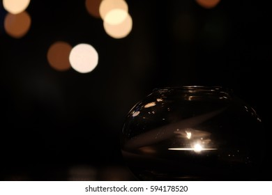 Light on party with bokeh