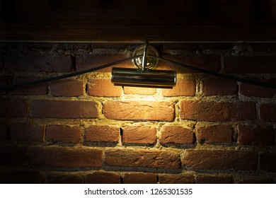 Light on wall  in pub