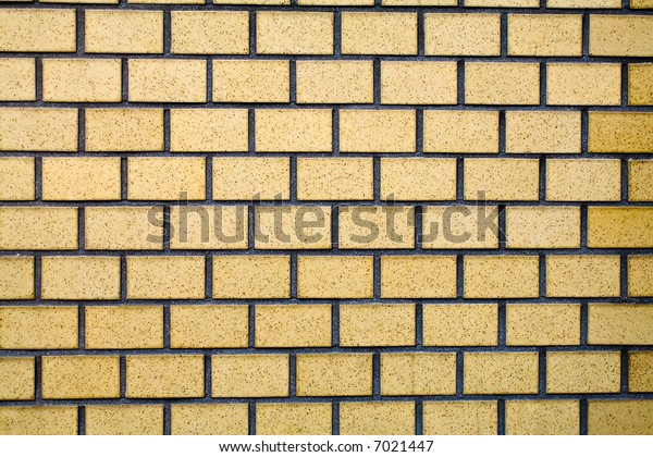 Light Orange Brick Wall, Texture Background