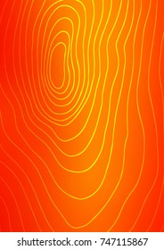 Light Orange natural abstract pattern. Creative illustration in blurred style with doodles. The doodle design can be used for your web site.