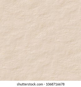 Light paper texture with flesh colour. Seamless square background, tile ready. High resolution photo.