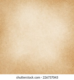 Light recycled brown paper texture with space for text