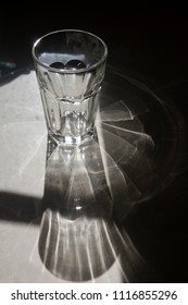 Light Refraction Through a Glass
