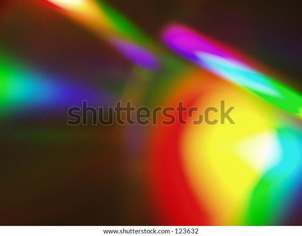 Light scattering on cd