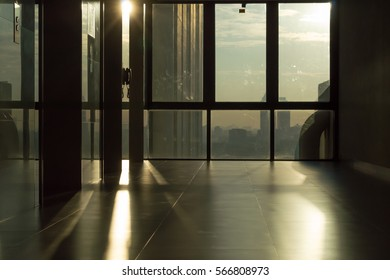 Light and shadow at the window