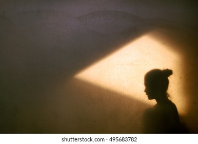 Light and shadow women