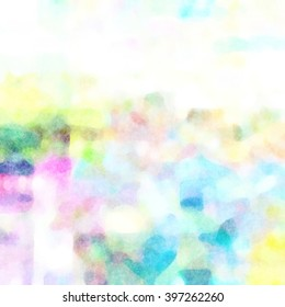 Light Soft Watercolor Background