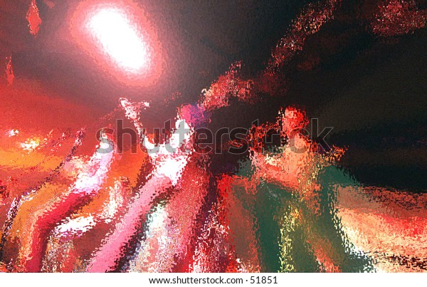light sound music band abstract color movement background