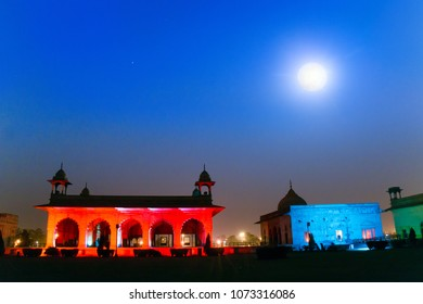 Light and Sound Show at Red Fort (Lal Quila) in Delhi , India