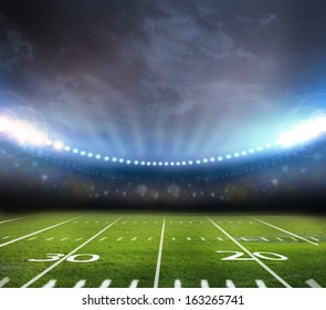 light of stadium