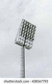 Light at stadium Sports lighting.