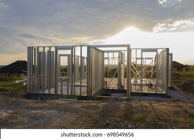 Light steel structured house