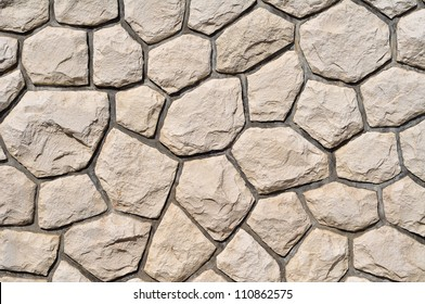 light stone wall