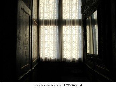 Light Streaming Through Windows