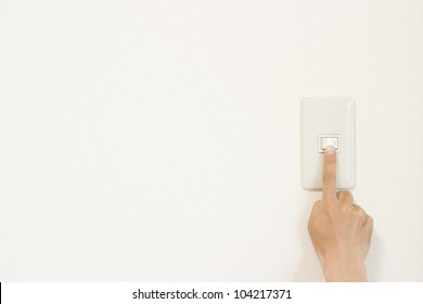 Light switch on and off