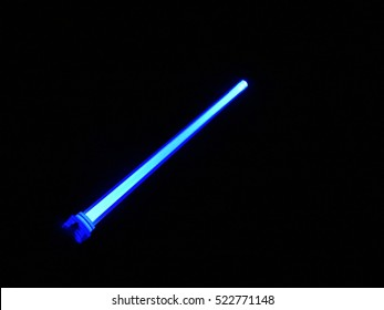 light swords on dark night sky background