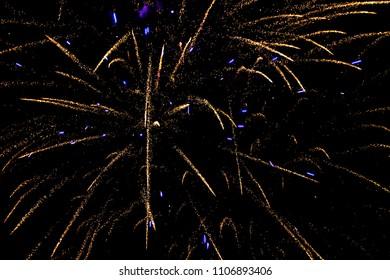 Light Tails Fireworks