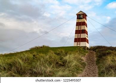 Light tower in Nr Vorupør