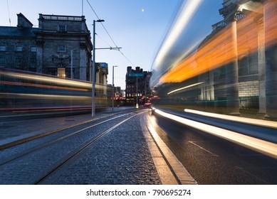 Light Trail à Dublin