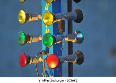 Drag racing lights images stock photos vectors shutterstock light tree aloadofball Images