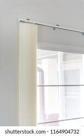 Light white curtain