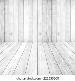 Light white floors wood planks texture background wallpaper. Stand for product showcase